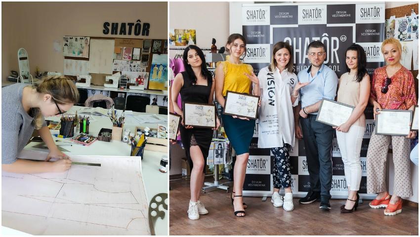 Foto: De la idee la faptă. Shâtor, prima școală de design vestimentar, creată de o moldoveancă