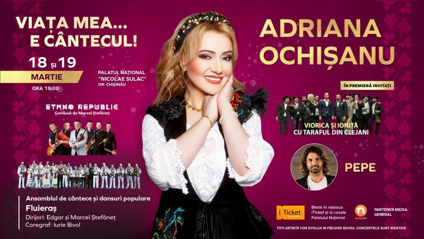 """Foto: """"Viața mea… e cântecul!"""" – Adriana Ochișanu își invită fanii la 2 zile de spectacol plin de emoții!"""