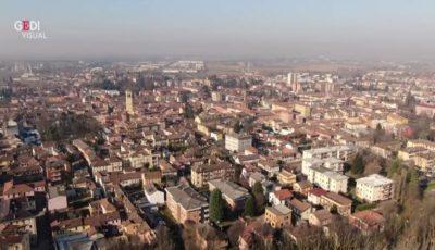 Video! Imagini filmate cu drona din orașele fantomă din nordul Italiei