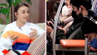 """O tânără moldoveancă se pregătește să plece în China. ,,Le voi duce 200 de măști prietenilor mei"""""""