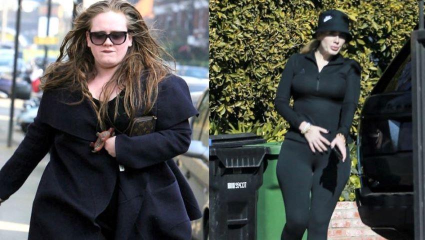 Foto: Transformare uimitoare! Adele e de nerecunoscut. Cum a slăbit 45 de kg?