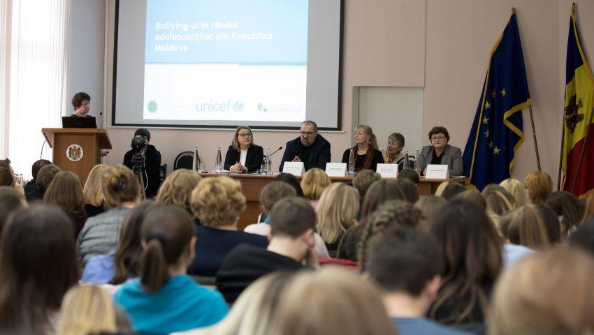 Aproape 87% dintre elevi sunt afectați de bullying, potrivit unui studiu, realizat în premieră în Moldova