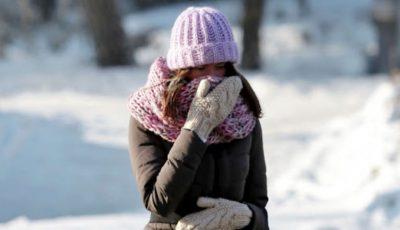 Un val de aer polar vine spre România. Temperaturile ajung la -20 de grade