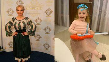 Ea e bogăția mamei! Mihaela, fiica Adrianei Ochișanu, a împlinit astăzi trei anișori
