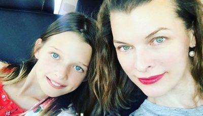 Mila Jovovici a devenit mamă pentru a treia oară, la 44 de ani