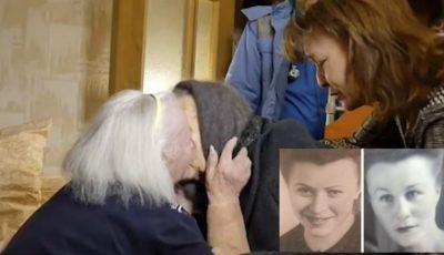 Video. Două surori din Rusia, despărţite de război, s-au reîntâlnit după 78 de ani