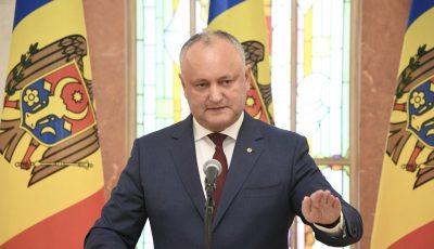 Igor Dodon: În fiecare zi 3-4 curse charter vor aduce moldovenii acasă