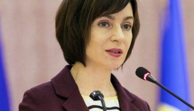 Maia Sandu a solicitat instituţiilor europene să extindă temporar termenul de şedere pentru cetăţenii moldoveni care nu pot ieşi din UE
