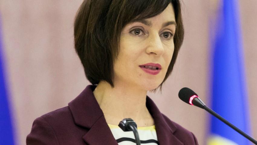 Foto: Maia Sandu a solicitat instituţiilor europene să extindă temporar termenul de şedere pentru cetăţenii moldoveni care nu pot ieşi din UE