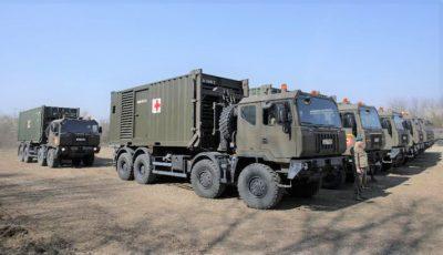 Fără precedent! Armata română face un spital în 5 zile. Primele imagini