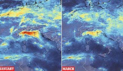 Epidemia de coronavirus a redus emisiile de dioxid de carbon și azot deasupra marilor orașe