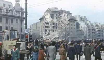 Cutremurul din 4 martie 1977. Peste 1.500 de oameni și-au găsit sfârșitul atunci, iar alți 11.000 au fost răniți