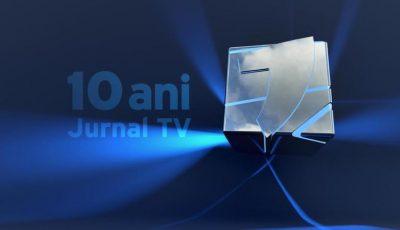 Jurnal TV împlinește astăzi 10 ani de activitate!