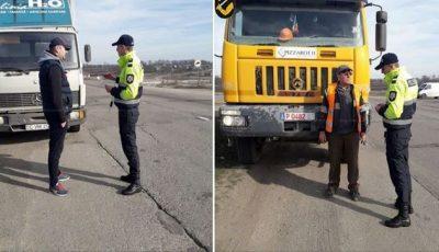 Inspectorii de patrulare atenționează șoferii privind riscul de adormire la volan