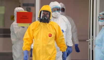 Vladimir Putin, în vizită la pacienții cu coronavirus