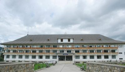 Mănăstirea Neamț s-a transformat în spații pentru carantină. Sunt cazați cei veniți din Italia