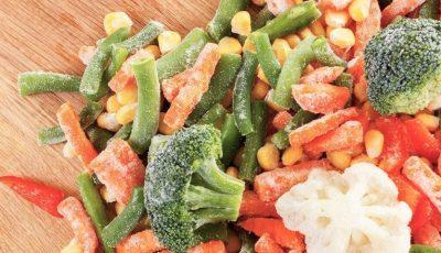 Adevărul despre legumele congelate din supermarket. Sunt sau nu sănătoase?