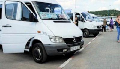 Mai multe curse interurbane de microbuze și-au sistat activitatea