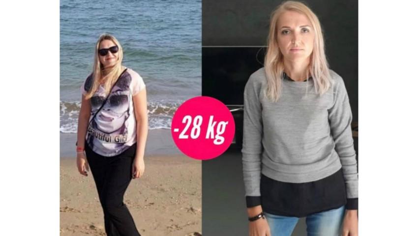 Foto: Istoria de succes a Nataliei, care a slăbit 28 de kg cu ajutorul Centrului Online de Nutriție și Sport!