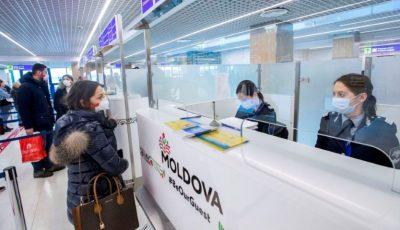 Moldovenii care revin din străinătate NU completează în mod corespunzător fișele epidemiologice la frontieră