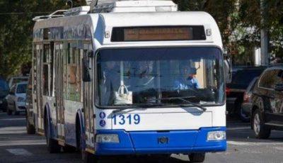 De luni, 16 martie, circulația transportului public din Chișinău va fi reluată