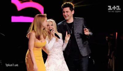 """,,Tanti Ludmila"""" i-a făcut o mega surpriză lui Dan Bălan, la ,,Vocea Ucrainei"""". Video!"""