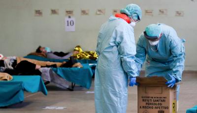 Italia a depășit China la numărul deceselor provocate de noul coronavirus