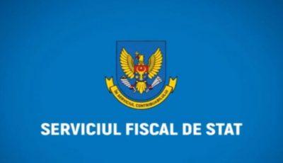 Serviciul Fiscal îndeamnă persoanele fizice să evite deplasarea la birourile fiscale până pe 1 aprilie