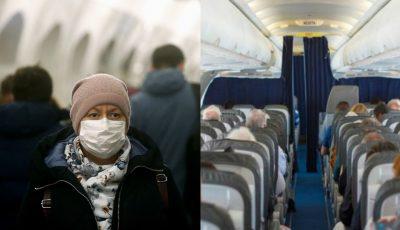 Un pasager care a zburat de la Chișinău la Moscova a fost diagnosticat cu virusul COVID-19