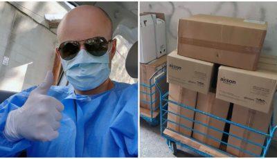 Compania Akson Medical a donat mănuși, uniforme medicale și sisteme de aspirație pentru spitalele din Moldova