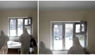 """Imagini video din interiorul spitalului ,,Toma Ciorbă"""", acolo unde sunt tratați pacienții cu Covid-19"""