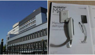 Institutul de Medicină Urgentă, dotat cu primul video-laringoscop performant