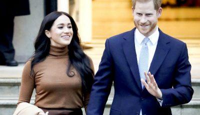 Meghan Markle și Prinţul Harry au pozat ca doi oameni obișnuiți la un eveniment privat de la palat