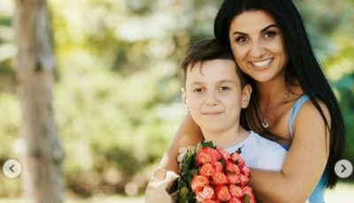 Emoționant! Svetlana Sainsus a publicat prima imagine cu fetița sa, Lia. Vezi cum o mângâie frățiorul mai mare