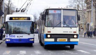 Chișinău: transportul public va circula doar dimineața și seara, și va fi gratuit până la anularea stării de urgență