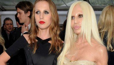 Donatella Versace şi fiica ei au donat 200.000 de euro unui spital din Milano