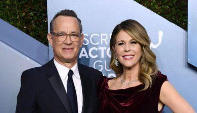 Tom Hanks şi soţia sa Rita Wilson au fost externaţi după ce au fost trataţi pentru Covid-19