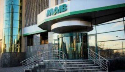 MAIB: Plata ratelor la credite, inclusiv dobânzi, amânată pentru 3 luni