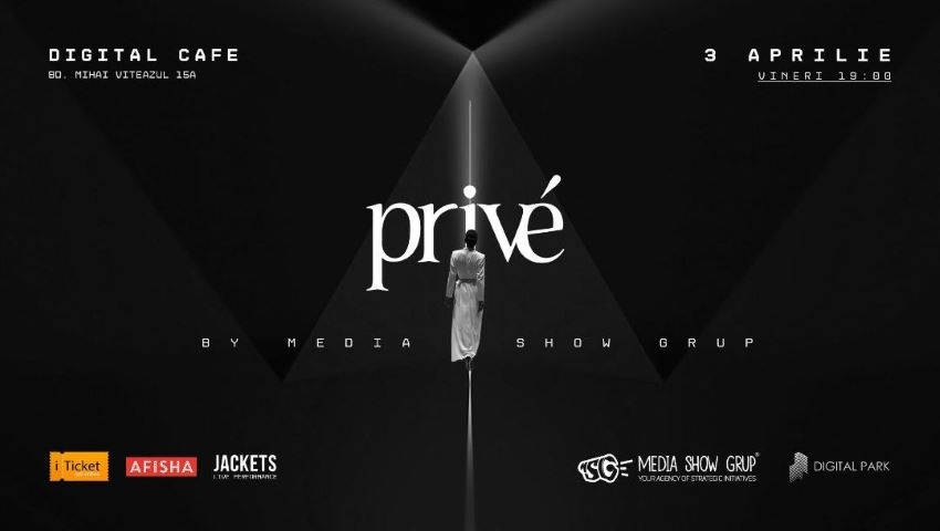 Foto: Pe 3 aprilie, Era digitală va domina cea de-a VI-a ediție Privé Fashion Events!