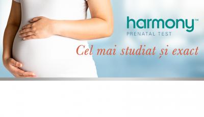Harmony® Prenatal Test – exclude anomaliile cromozomiale la făt. Doar la Alfa Diagnostica