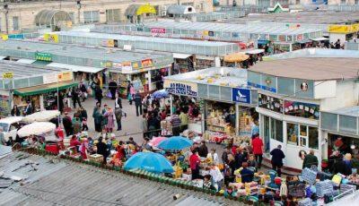 Piața Centrală din Chișinău se închide, în legătură cu epidemia de coronavirus
