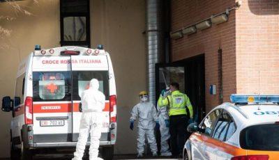Coronavirus Italia: 41 de decese într-o singură zi. Bilanțul a ajuns la peste 3.858