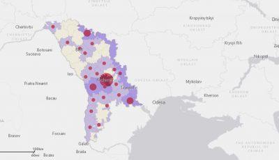 Covid-19: Moldova se află printre țările cu cele mai puține cazuri din Europa