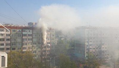 Incendiu în sectorul Râșcani al Capitalei