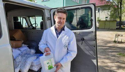 Asociația obștească EcoVisio a donat ajutoare materiale spitalelor din Bălți și Căușeni!
