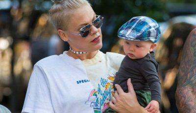 Pink vorbește despre simptomele grave ale coronavirusului la fiul sau de 3 ani