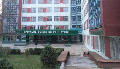 Mai mulți angajați ai Spitalului de Psihiatrie din capitală, infectați cu Covid-19