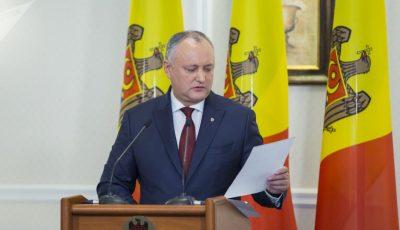 Igor Dodon a dezvăluit două scenarii privind susținerea Bacalaureatului
