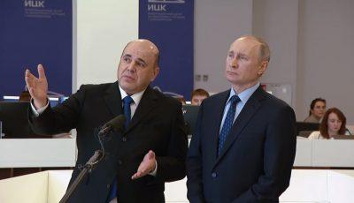 """Prim-ministrul Rusiei: ,,Tocmai am aflat că testul la Covid-19 mi-a ieșit pozitiv"""""""