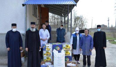 Episcopia de Bălți a oferit daruri pentru Centrul de plasament temporar pentru persoane cu dizabilităţi